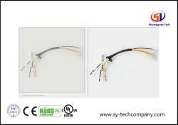 Assemblage de câbles du moteur UL1007 avec 250 de la borne du fil