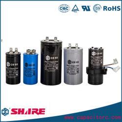 CD60 de condensateurs électrolytiques aluminium de condensateur de démarrage
