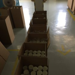 Único lado revestido a PE finos para uso com a embalagem à prova de umidade