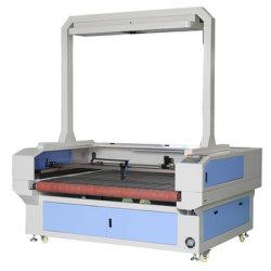 جهاز متقارن حساس لتسجيل الصور CCD مزود بقماش ليزر تلقائي مزود بقماش ثنائي أكسيد الكربون بقوة 130 واط نمط الليزر تخفيض سعر ماكينة