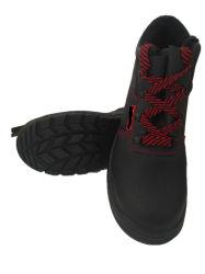 O calçado de trabalho e sapatos de segurança com peles com pêlo para curativo compressivo no Inverno