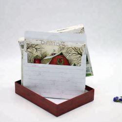 Tarjeta de felicitación personalizadas OEM Nuevo Año y tarjeta de invitación Tarjetas de Felicitación de Navidad