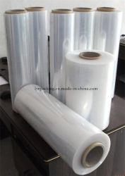 China Fabricación LLDPE transparente envoltura palet de madera Film Stretch PE