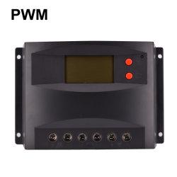 12 В 60A ШИМ контроллера заряда солнечной энергии с ЖК-дисплеем