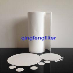 0.65/0.80 Um en nylon (N6-N66) Papier filtre pour la filtration des solvants
