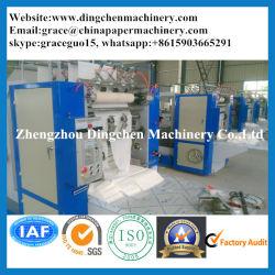 Автоматическая с высокой скоростью сертификации ISO Cube в салоне поверхности ткани на лице производство бумаги оборудование, производство оберточной бумаги складные орудия