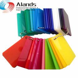 Des couleurs claires Cast feuille acrylique Jinan depuis 1994 en usine