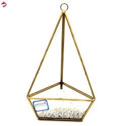 Геометрические Стеклянные пирамиды Terrarium вертикальной висящих сеялка сочные кактусы папоротника Flower Pot