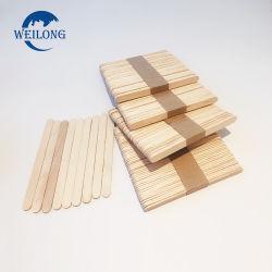 Popsicle Sticks de madeira de alta qualidade feito de choupo ou Birch
