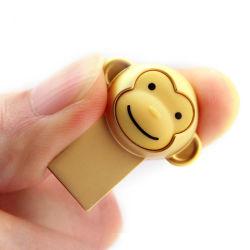Лучшие подарки для бизнеса мини-Size металлические Monkey дизайн USB Memory Stick™