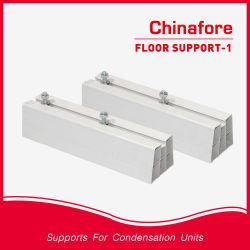 Supporto pavimento in PVC per aria condizionata supporto esterno in plastica