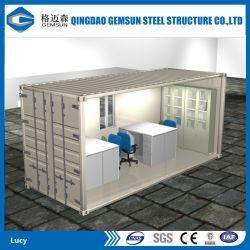 China prefabricados, 20/40FT CONTAINER contenedor paquete plano de la oficina/casa en venta