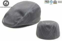 Bouchon de lierre à rayures Fashion coton Gatsby Hat