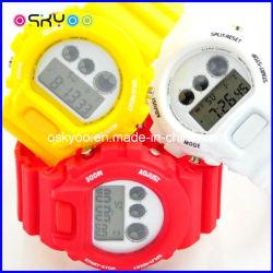 昇進のギフト3ATMはLCDデジタルの腕時計を泳ぐスポーツを防水する