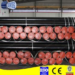 Tubo senza giunte rotondo laminato a caldo del acciaio al carbonio di ASTM A106b Sch40