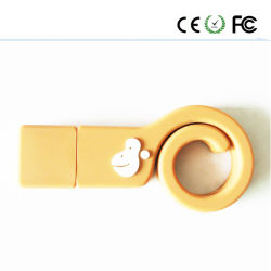 2016 Nouveau modèle de forme de singe pilote USB à mémoire Flash