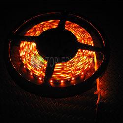 مصباح LED كهرماني قابل للإضاءة 2835، شريط LED، 60 مصباح LED / يدوي، يستخدم في الإضاءة