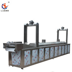 企業のガスのセリウムISO 9001の機械を揚げる自動ポテトチップの大会