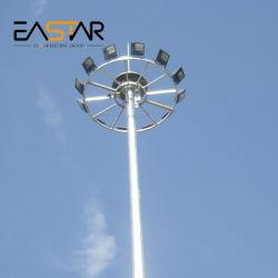 Certification CE de haute qualité mât élevé d'inondation de lumière à LED