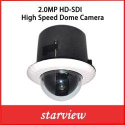 감시 1080P 20X SDI WDR PTZ 속도 돔 CCTV 감시 카메라
