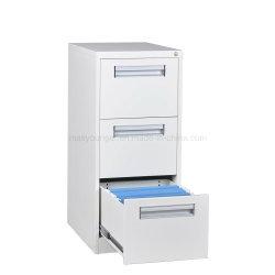 Un mobilier de qualité 3 tiroir de bureau en métal Bureau chevet l'utilisation sécuritaire de l'acier Armoire de stockage de fichier de clé de verrouillage