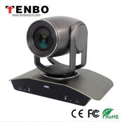 4K 30fpsおよび1080P 60fps 12Xのビデオ会議システムのための光学ズームレンズ12XデジタルのズームレンズVisca及びPelco-D/P HDMIおよびSDIの出力HD PTZビデオ会議のカメラ