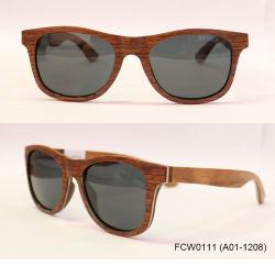 FC Optics Crasy Selling Red Rosewood Unisex Frame Zonnebril Eyewear