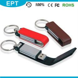 Рекламные популярных кожаные забавное флэш-накопитель USB