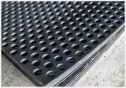 Perforiertes Mangan-Stahlblech-/Panel-lochendes Loch-Bergbau-Schwingung-Sieb-vibrierender Bildschirm-Kreisineinandergreifen für Minenindustrie