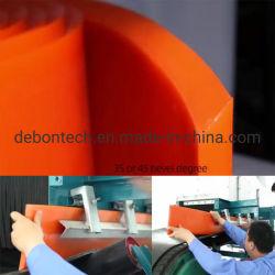 لوحة طوق مطاطي للحافة عالية الحرارة لناقلة الحزام