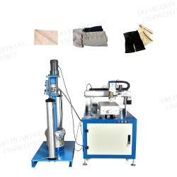 Automatische nahtlose Silikon-Beschichtung-Maschine für Wäsche Underware Büstenhalter-Band-elastische Beschichtung