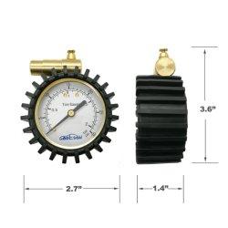 Pressão baixa e alta precisão do medidor de pneus de bicicleta para Válvula Presta e Schrader