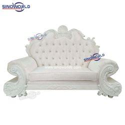 جلود للبيع الساخن من القماش الفاخر أريكة رويال كلاسيكية للمناسبة سرير كينغ سايز لحفلات الزفاف وأريكة يمكن تحويلها إلى سرير