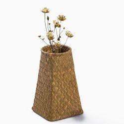 독특한 꽃 식물 꽃병 수제 수제 우븐 시크라스 바세 홈 하우스 호텔 장식용으로