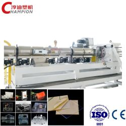 PC/plastique PMMA/PS/Mme/la carte d'Extrusion de feuilles de la machinerie de l'extrudeuse en plastique