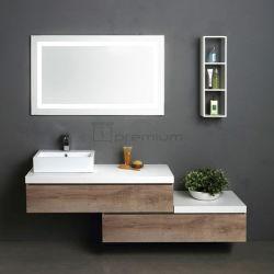 SP-8430 Italian Modern Bathroom Mounted Vanity Cabinet