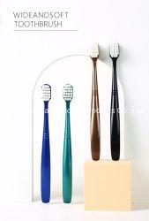 Широкий мягкий десять тысяч штрафа шелк зубной щетки из натуральной щетины для взрослых