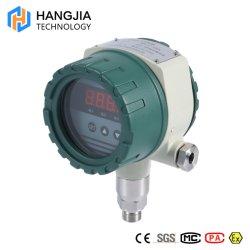 La señal analógica de LED de 4 bits el interruptor de presión de la pantalla digital