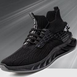 Эбу системы впрыска из ПВХ обувь Flyknit верхний спорта работает мужчин обувь