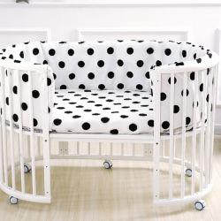 В этом комплексе с круглой кровати могут быть соединены с большой кроватью Twin многофункциональная детская кроватка кровать базовой станции
