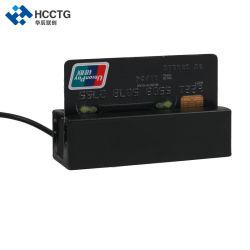 قارئ بطاقات مغنطيسية للقارئ MSR ذو 3 مسارات ذات جودة عالية بالنسبة إلى محطة POS الطرفية Hcc750u-06