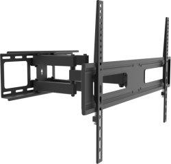 La articulación de seis brazos, Max VESA 400*600 mm, se adapta a las pantallas planas LCD LED curvada, reforzado, girar e inclinar el soporte, soporte de televisor TV, TV Montaje en Pared ZLA09-466