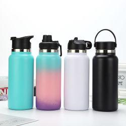 Umweltfreundliche Vakuum Sport Doppelwand Edelstahl Thermo Isoliert Wasserflaschen mit Custom Logo
