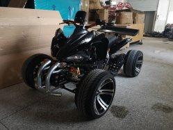 전기 ATV의 4륜 자동차 경마에 타고 4륜구동 자전거