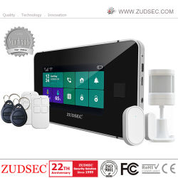 2021 la più recente casa wireless antiladro intelligente con impronte digitali senza fili WiFi/GSM Burglar Sistema di allarme antifurto con telecamera IP