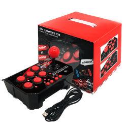 Nuevo producto Retro videoconsola con cable 4 en 1 Joystick para N-Switch/P3/PC/Android Juegos Juegos de TV/botones de función Plug puerto USB