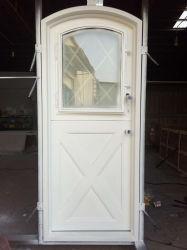 Белый цвет пользовательского голландский стиль утюг дверью кабины
