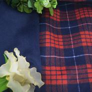 Slap Double-Faced coloridos e revestimento em tecido de lã