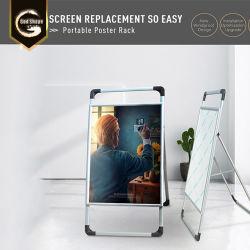 옥외 방수 광고 메뉴 포스터 대 사진 포스터 대 금속 알루미늄 표시 프레임 대 홀더