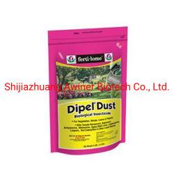 Très efficace de produits agrochimiques insecticide systémique Bacillus thuringiensis 16000UI/mg deWP ; 8000UI/mg sc